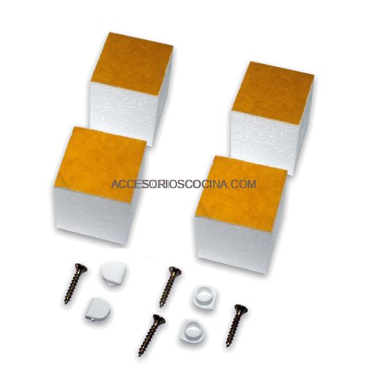 Marco microondas universal para muebles de cocina for Herrajes y accesorios para muebles