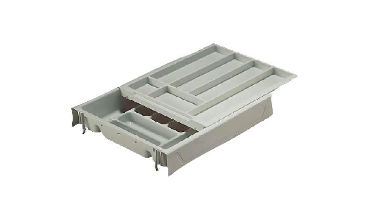 Caj n doble cubertero accesorios de cocina for Accesorios para cajones de cocina