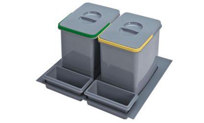 cubos ecológicos basura 60