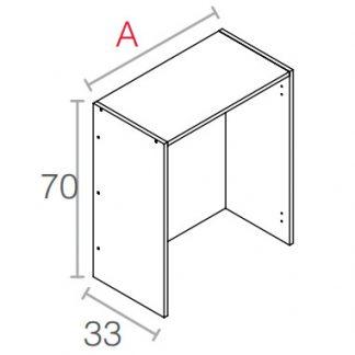 Mueble platero de 70cm.