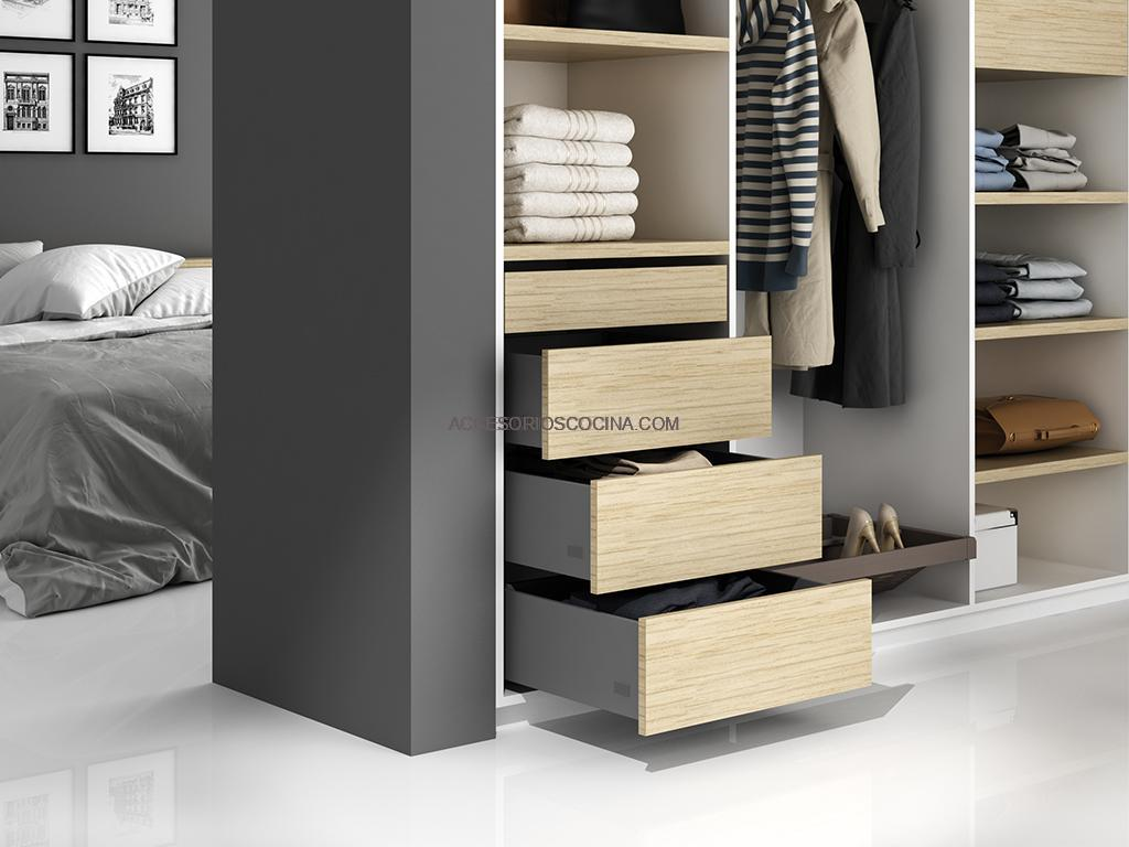 Cajones y gavetas adaptables a cualquier medida de muebles