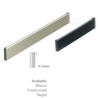 Rejilla aireación aluminio